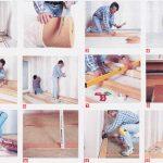 Układanie podłogi z desek cz.2
