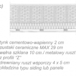 """Ściany dwuwarstwowe technologia """"sucha"""" (wentylowane okładziny ścienne)"""